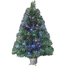 3ft Pre Lit Blossom Christmas Tree by Fiber Optic Christmas Tree Ebay