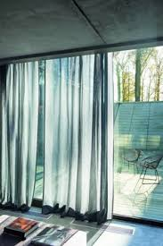 Searsca Sheer Curtains by Sheer Curtain In The Front And Blackout Drapery Behind Them Great