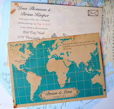 Map Wedding Invitations For A Lovely Invitation Design With Layout 1