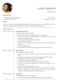 Resume Examples By Real People: HR Operations Specialist ...
