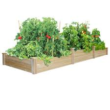 greenes fence tall tiers dovetail raised garden bed rc4t8s34b
