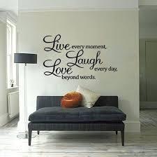 Fascinating Live Laugh Love Wall Decor Quote Vinyl Sticker Art
