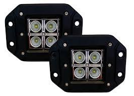 100 Semi Truck Led Lights Flush Mount LED Pod Lights Spot Beam Front Rear Reverse Light UTV