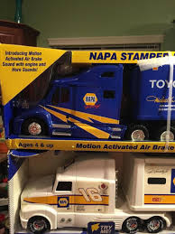 Nascar Napa Auto Parts #15 Michael Waltrip Semi Truck Hauler Toy ...