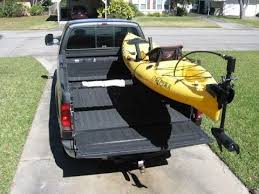 T Bone Bed Extender by Low Profile Kayak Rack For A Truck Diy Part 1 Youtube