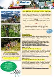 bike wochenprogramm