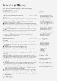Example Resume For Duty Manager Awesome Marketing Cv Examples And Template
