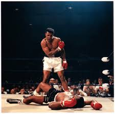 Neil Leifers Ali Versus Liston 1965 One Of The Most Famous Boxing Pictures All Time