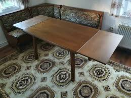 vintage esszimmermöbel esstisch mit eckbank 2 stühlen