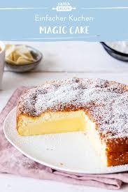 magic cake einfach mit weißer schokolade
