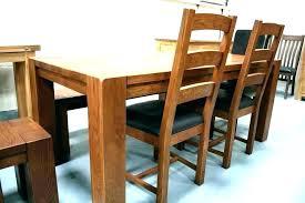 Solid Oak Dining Room Sets Set Table
