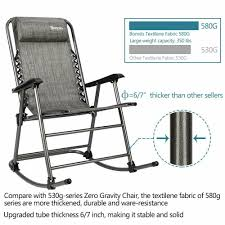 350 LB Heavy Duty Zero Gravity Rocking Chair Patio Lawn Recliner Folding  Outdoor Wooden Front Porch Rocking Chairs Pineapple Cay Allweather Chair White Features Amazoncom Xue Heavy Duty Sunnady 350 Lbs Durable Solid Wood Outdoor Rustic Rocker Camping Folding For Nursery Zygxq Garden Centerville Amish 800 Lb Classic Treated Double Ash Livingroom Indoor Best Home 500lb Heavy Duty Metal Patio Bench Glider