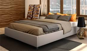 Cumulus Upholstered Platform Bed by Amisco