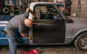 100 Truck Norris Project Car Update Car Crafts Project Gets A New Door