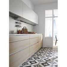 cuisine bois laqué cuisine bois et blanc collection et tendance une cuisine bois et
