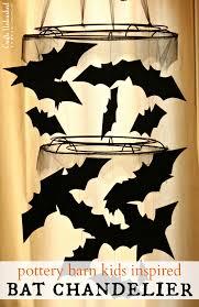 DIY Halloween Bat Chandelier Crafts Unleashed