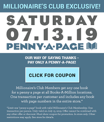 Penny A Page : BAM! : Books-A-Million Online : Books-A-Million Online Booksamillion Offering One Book At Penny Per Page Wednesday 40 Off Harlequin Books Promo Codes Top 2019 Coupons Promocodewatch Inside A Giant Darkweb Scheme To Sell Counterfeit Wired Booksamillion Twitter A Million Coupon Code October 2014 Art History Meno 11 Best Websites For Fding And Deals Online How Coupons And Sales Actually Make You Spend More Money Than Save Frequently Asked Questions Parent Scholastic Reading Club Canada Get Exclusive Sales Promotions Vouchers In Iprice Singapore 70 Off Amazon Aug 2122 State Of New Jersey Employee Discounts Sold 35000 Books During Pennyapage Sale Alcom
