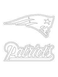 Click To See Printable Version Of New England Patriots Logo Coloring Page