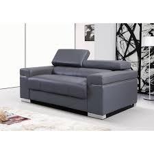 leather sofa grey centerfieldbar com