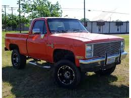 100 1981 Chevy Truck For Sale Chevrolet K10 For ClassicCarscom CC1019350