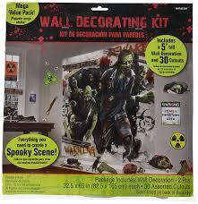 Scene Setters Halloween by Amazon Com Amscan Zombie Apocalypse Halloween Trick Or Treat