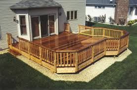 20 x 20 attached leisure deck with 10 extended bay area at menards