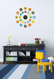 horloge chambre bébé stupéfiant chambre enfant original deco chambre enfant avec