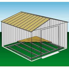 arrow foundation kit for arrow steel shed 10x12 or 10x14