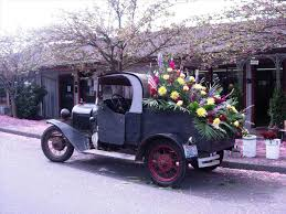 Vehicle Autumn S As A Pot U Lynngarwood Vintage Flower Truck
