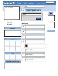 Farcebook Template 341822a3b034d184183796e19c463756 Facebook Profile Teaching Resources
