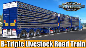 ✅ ATS Mods - B-Triple Byrne Livestock Road Train - YouTube Custom Peterbilt Show Truck Trucks Pinterest Peterbilt Ets2 Mods Triple Trailer American Reefer Euro Simulator 2005 379 Triple Axle Semi Truck Item D4174 Sol Steam Workshop Best For Ets 2 131x Version R Diesel They Named This Project One Trucks Mrtruck News You Can Use Truspickup Free And Suv Gray Wpls185 74000 Lb Capacity Wireless Portable Lift System Us About Us Solutions Rc Adventures Chrome King Hauler Liebherr Loader On Axle Tamiya Pulls 8x8 Tipper Top 5 Of The 2015 Sema Autoguidecom