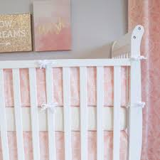 Nursery Crib Bedding Sets U003e by Boho Blush Crib Bumper Pads Baby Bedding Sweet Kyla