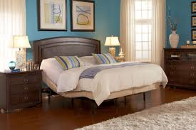 adjustable bed frame for headboards and footboards with deluxe