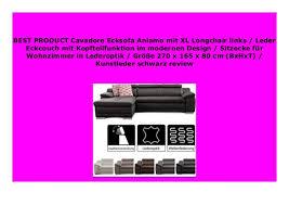 best buy cavadore ecksofa aniamo mit xl longchair links