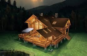 chalet en rondin en kit wood house maisons en bois construction en bois