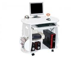 ordinateur de bureau compact petit bureau ordinateur bureau blanc pas cher lepolyglotte