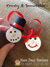 Frosty Snowman Christmas Tree by Diy Led Snowman Ornaments Christmascraft