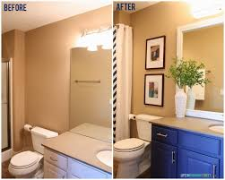Guest Bathroom Before And After Makeover Shots