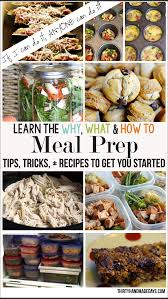 Meal Prep Ideas The Why What And How To