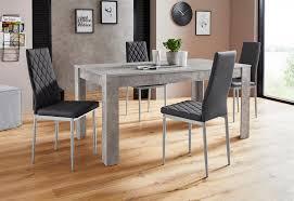 essgruppe lynn160 set 5 tlg tisch mit 4 stühlen kaufen otto
