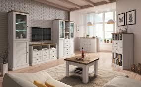wohnzimmer komplett set a lägern 6 teilig farbe kiefer weiß eiche braun