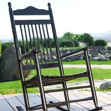 Rocking Chair Cracker Barrel Child by Coral Coast Indoor Outdoor Mission Slat Rocking Chair Black