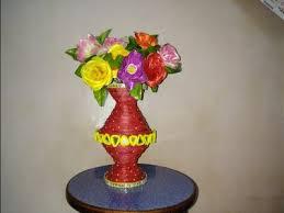 DIY Waste Newspaper CraftFlower Pot From Paperbest