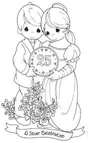 DIBUJOS PARA COLOREAR PRECIOUS MOMENTS Dibujo Infantiles