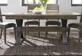 Sonoma Road Bark Extendable Trestle Dining Table