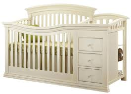 Sorelle Verona Dresser Topper by Sorelle Verona 4 In 1 Convertible Crib And Changer French White
