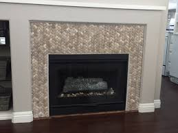 3d basket weave tile fireplace surround pebble tile shop