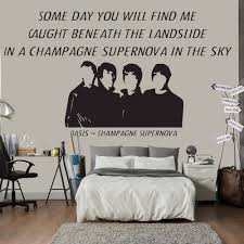 Wall Mural Decals Uk by Song Lyric Quotes Wall Stickers Iconwallstickers Co Uk