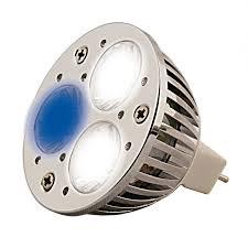 eclairage led pour aquarium eau de mer aqua medic aquasunspot 3 x 1w spot led 12v 14000 k culot mr16 pour