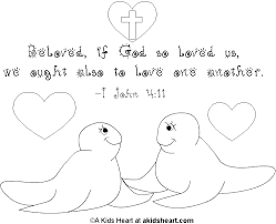 Bible Verse Coloring Page For Valentine